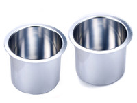 Aluminum Jumbo Cup Holders - Pair