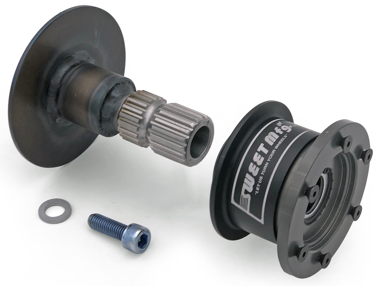 Jeep TJ/LJ Quick Disconnect Steering Wheel Hub Adapter