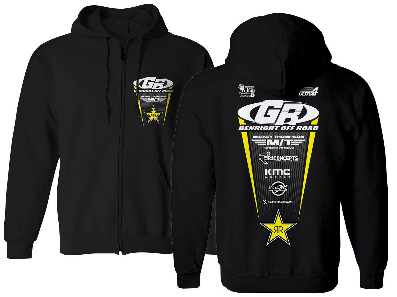 GenRight KOH 2019 Team Zip Up Hoodie