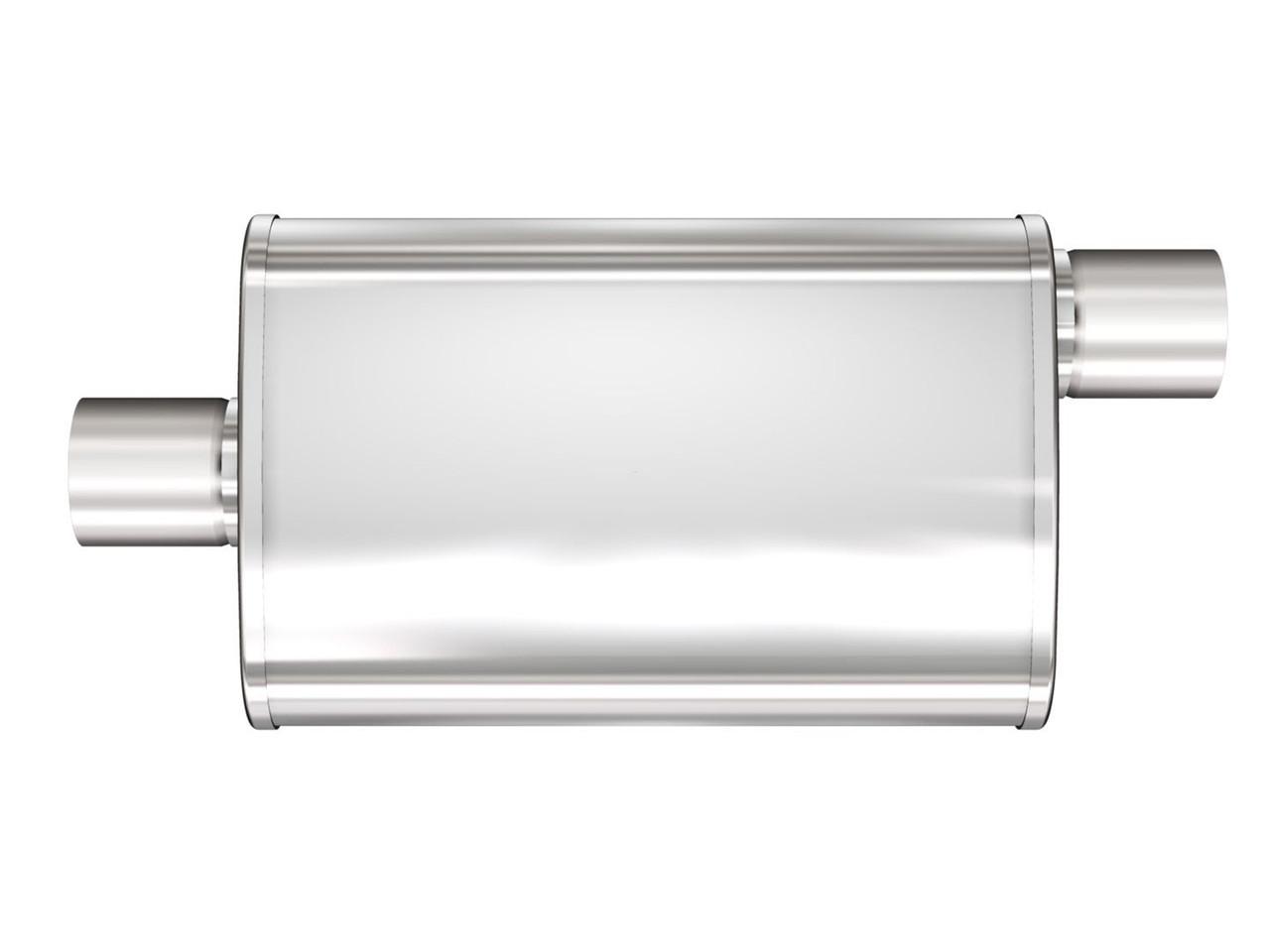 """MagnaFlow 4"""" X 9"""" Oval Center/Offset XL Multi-Chamber Performance Muffler"""