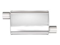 """MagnaFlow 4"""" X 9"""" Oval Offset/Offset XL Multi-Chamber Performance Muffler"""