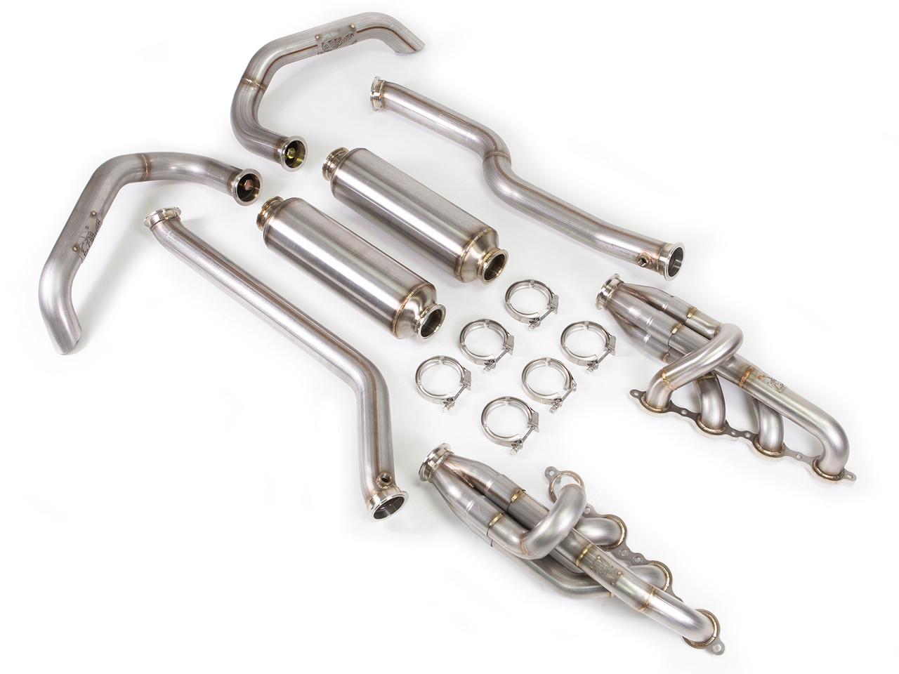 AFE Full Exhaust System (For Tracer LJ Suspension)