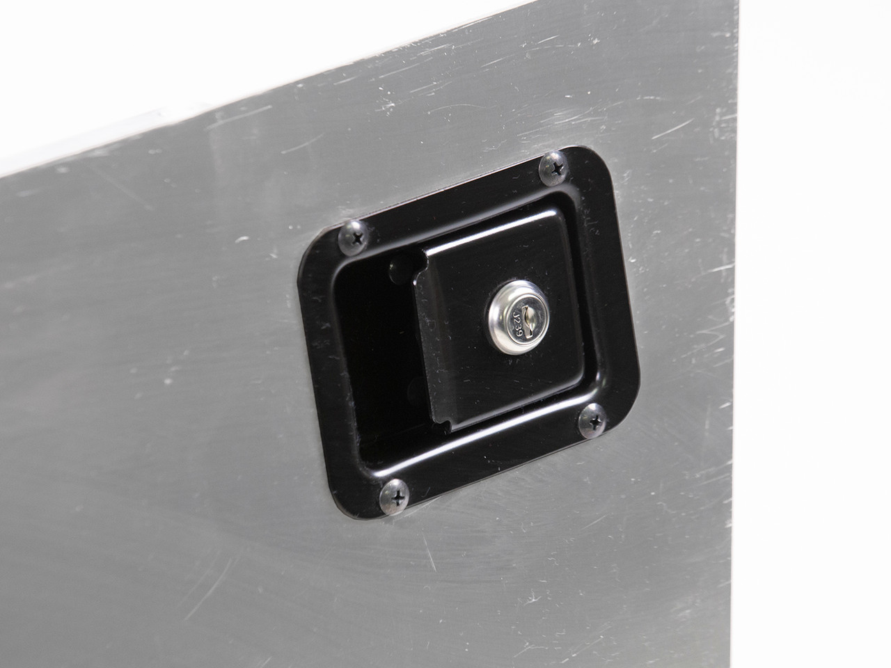 Uses factory-compatible latches with built in locks