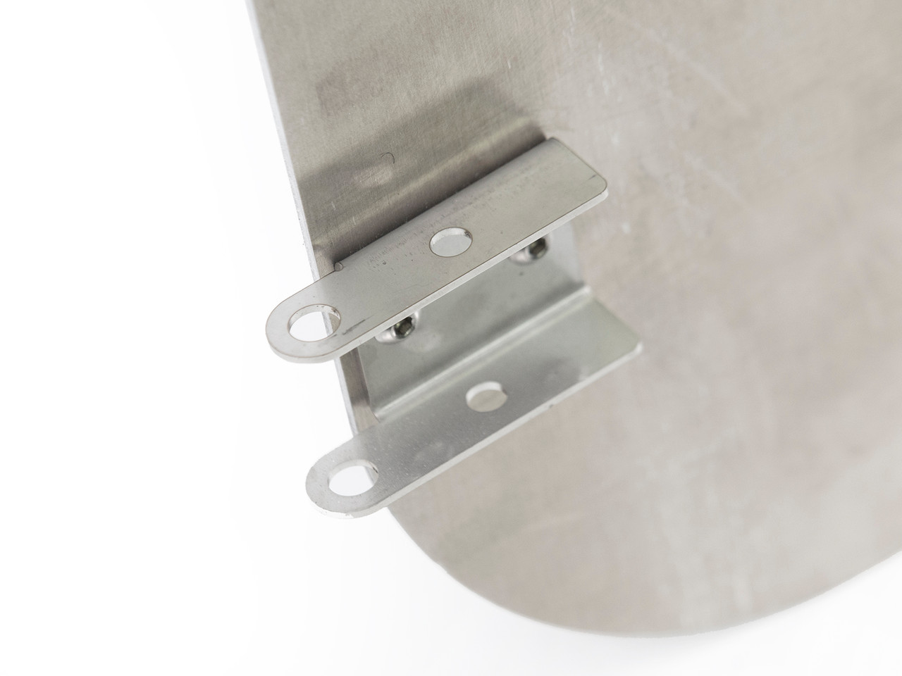 Custom stainless steel hinges for secure mounting