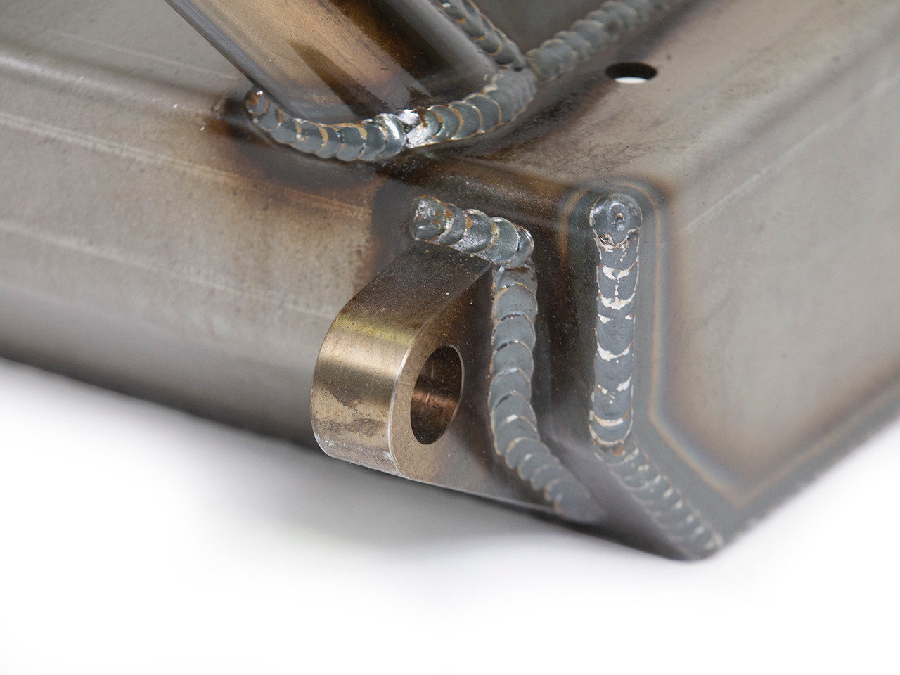Heavy Duty CNC machined high clearance Tow Points are welded from both sides