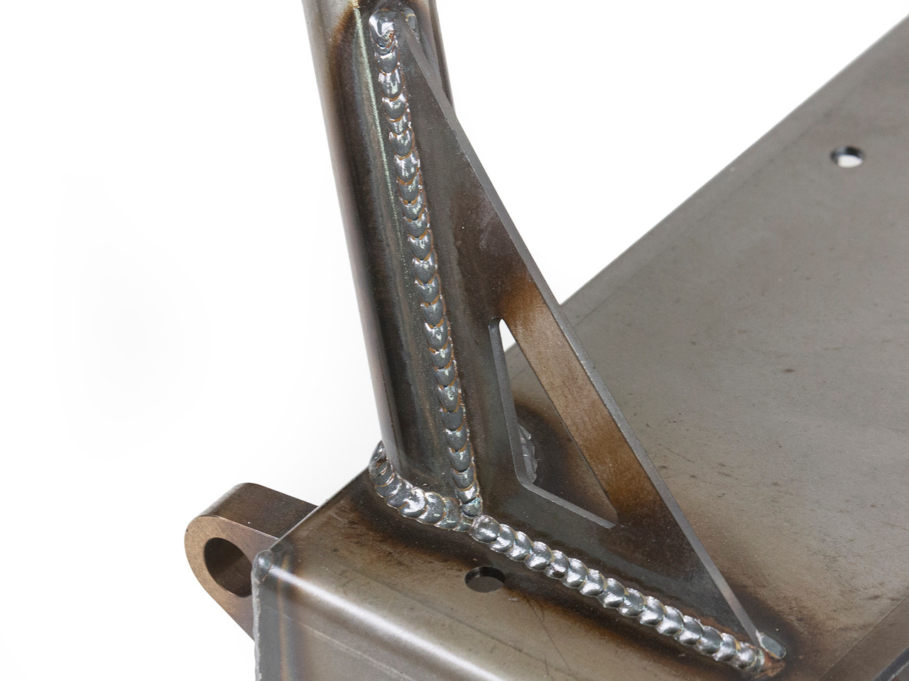 Quality workmanship shown here with a close up of the GenRight welded