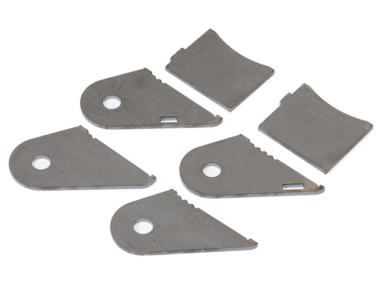 Weld on Tabs for the GenRight Jeep JK Swing Out Tire Carrier