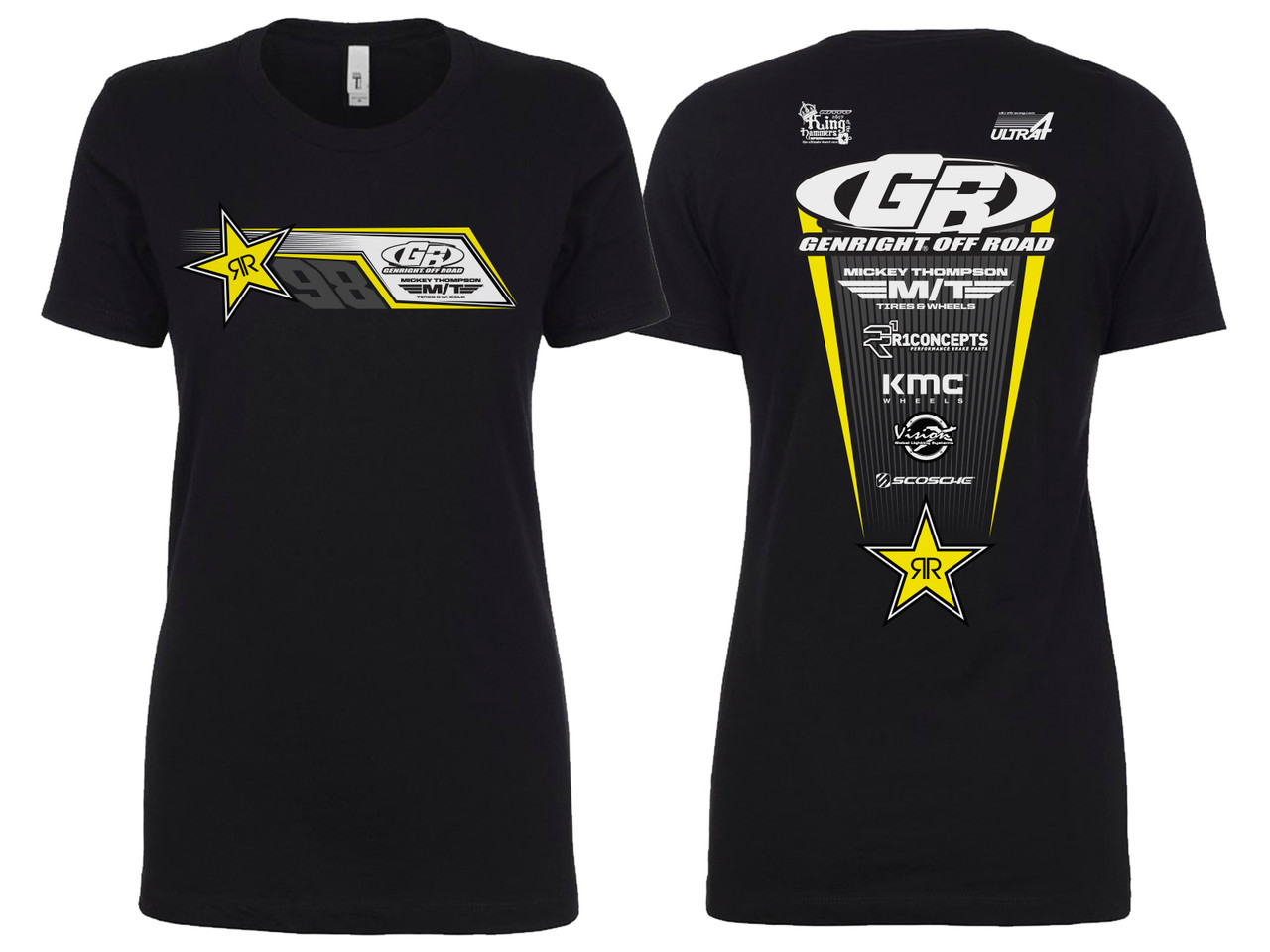 GenRight KOH 2019 Women's Team Edition SS Tee