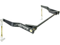 JK Antirock Front Sway Bar Kit (Steel Arms, Aluminum Frame Brackets)