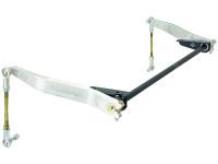 JK Antirock Front Sway Bar Kit (Aluminum Arms, Steel Frame Brackets)