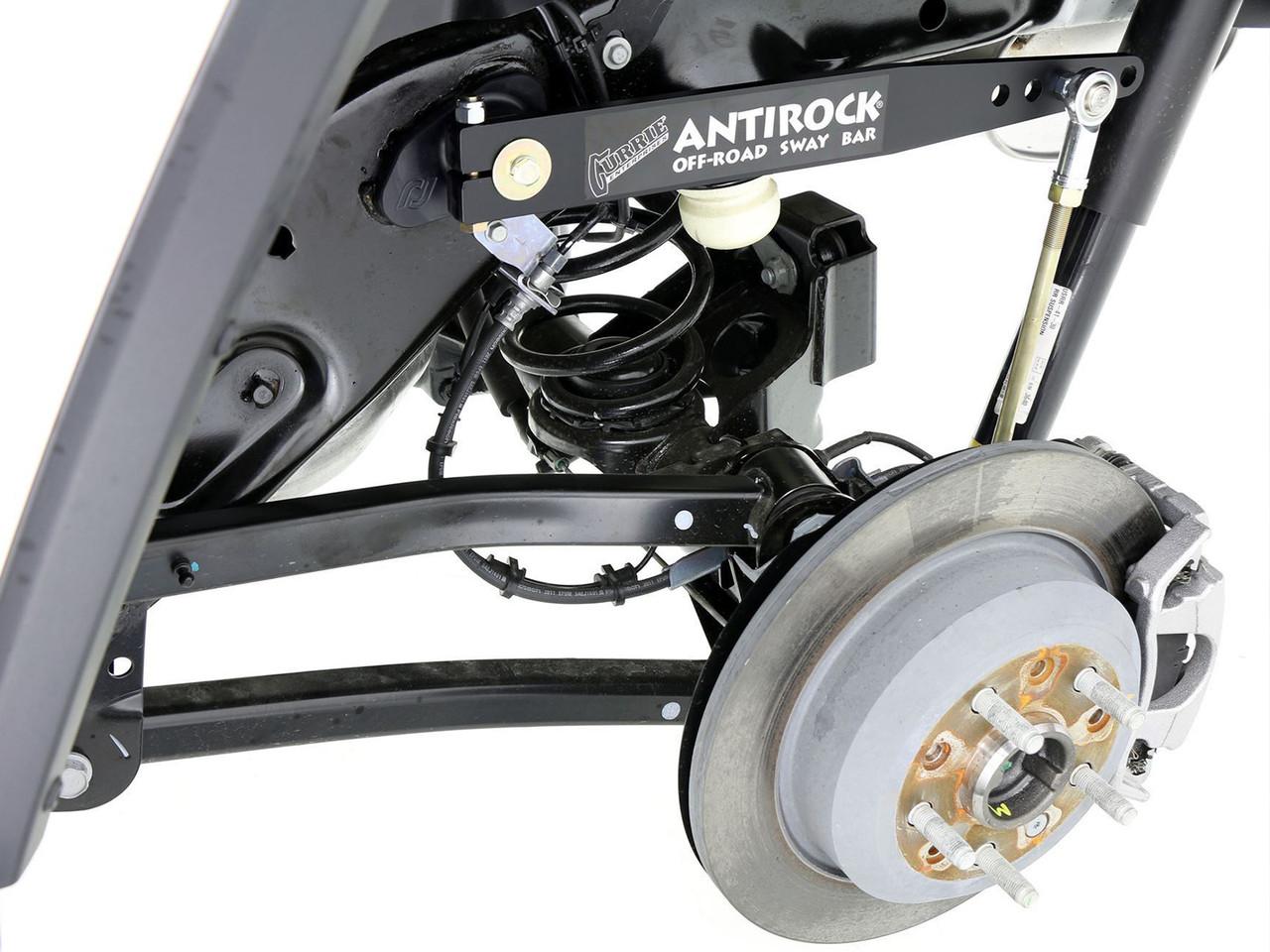 JL 2D or 4D Antirock® Rear Sway Bar Kit (Steel Arms)