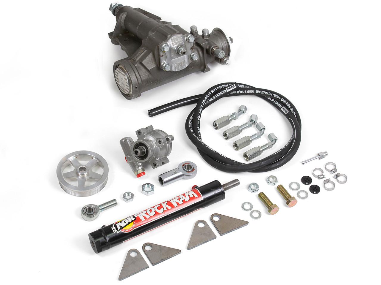 AGR Rock Ram Steering System for Jeep Wrangler JK
