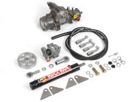 AGR Rock Ram Steering System 03-06 Jeep TJ & LJ (GenRight Tracer)