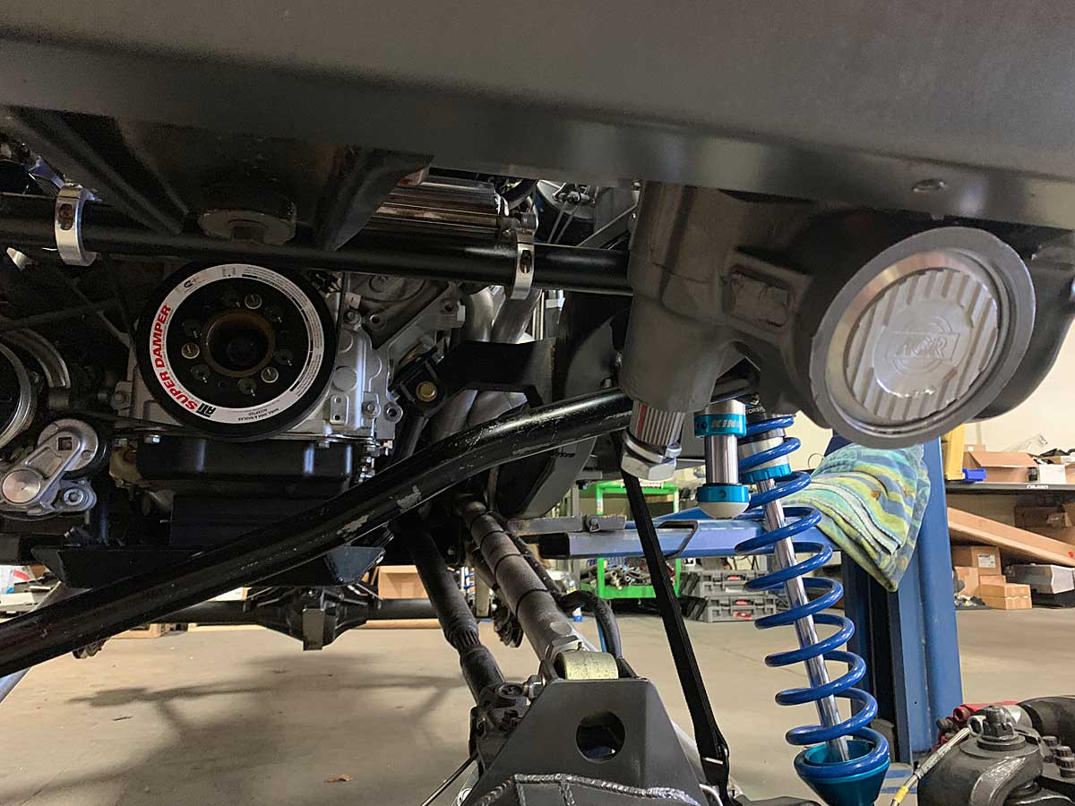 AGR Saginaw box conversion in GenRight Tracer build