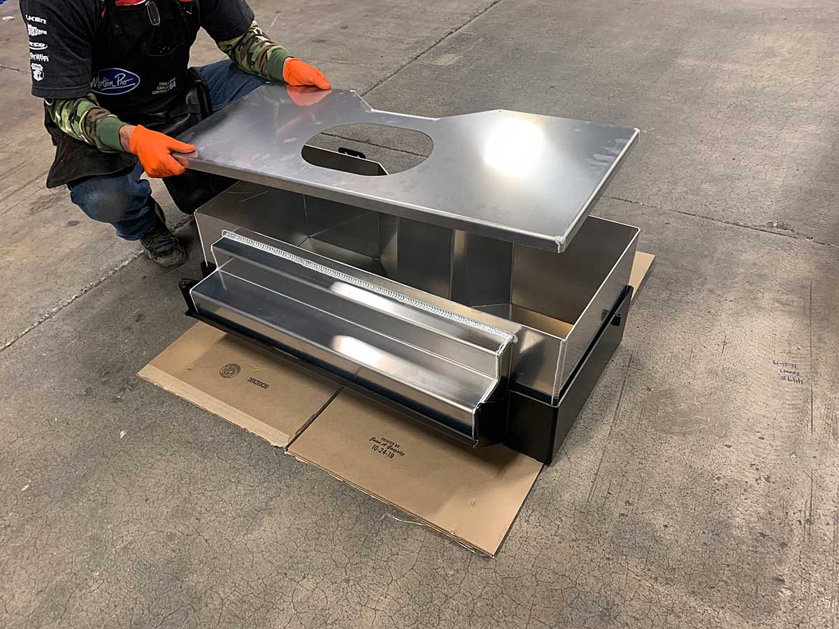 GenRight's aluminum Can and Skid