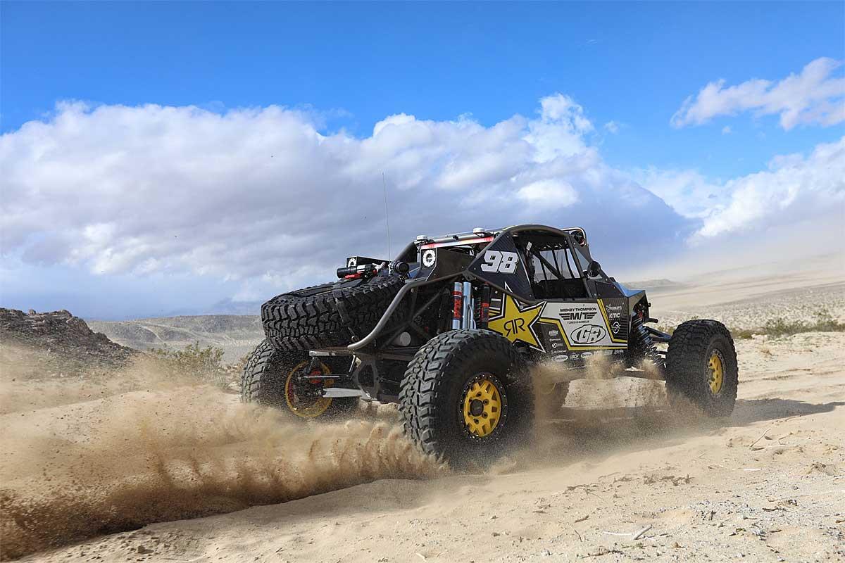 Baja BOSS on the #98 Ultra4 racer!