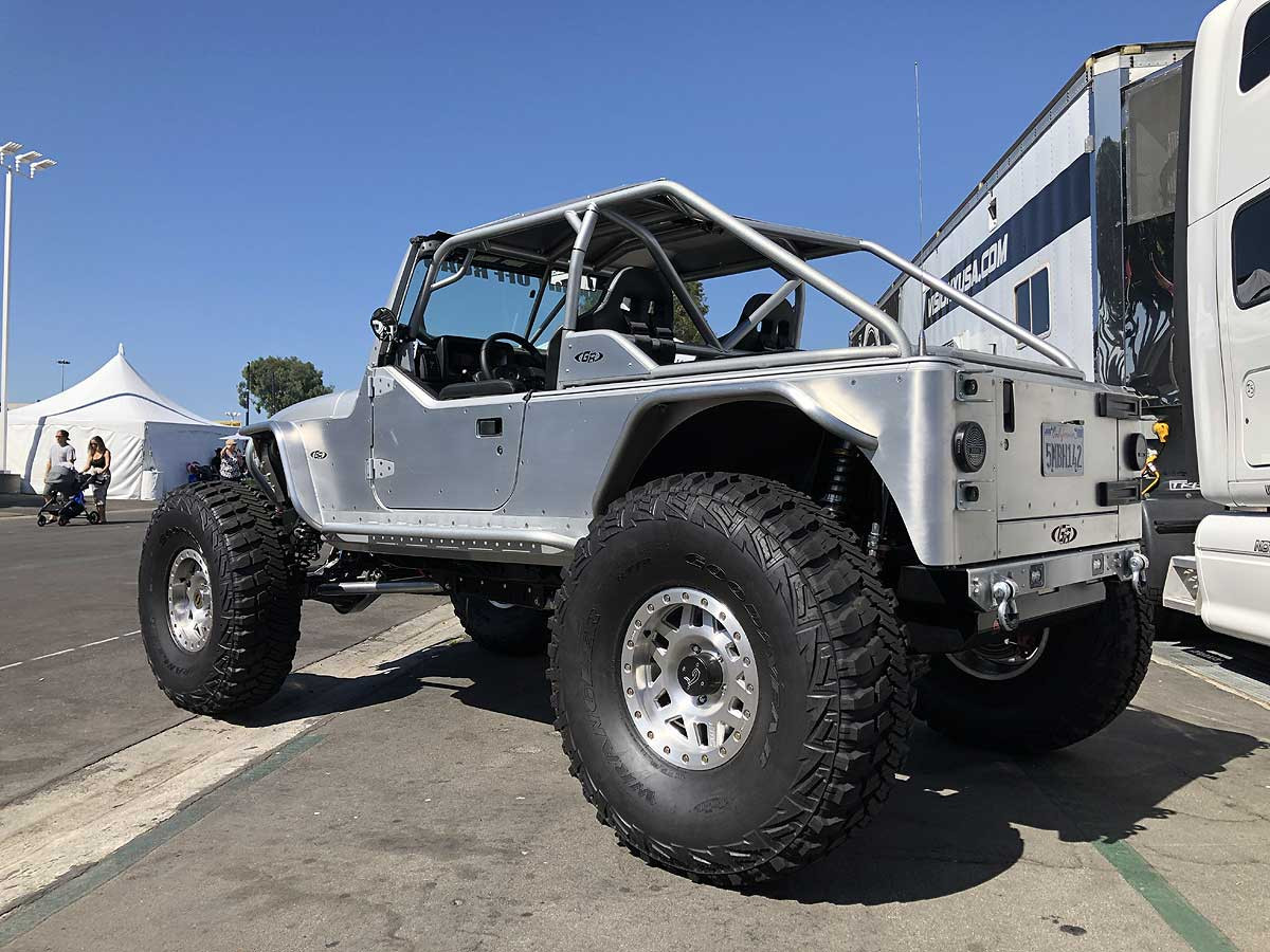 """Recently used on the Silver Surfer Tracer Jeep Build w/42"""" tires"""
