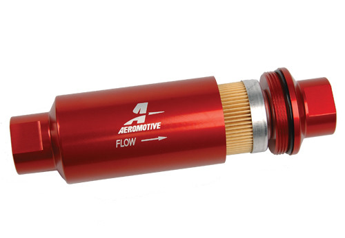 Aeromotive Filter 12301 has a changable element