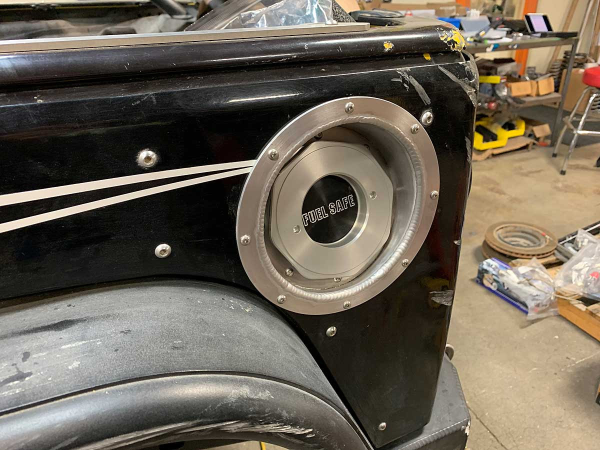 Quick Fill can be mounted in the factory location with optional GenRight bezel