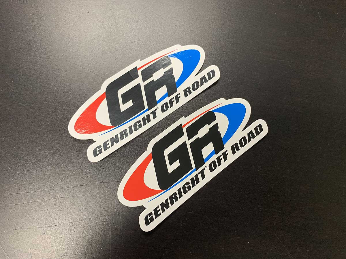 """4"""" color GR stickers"""