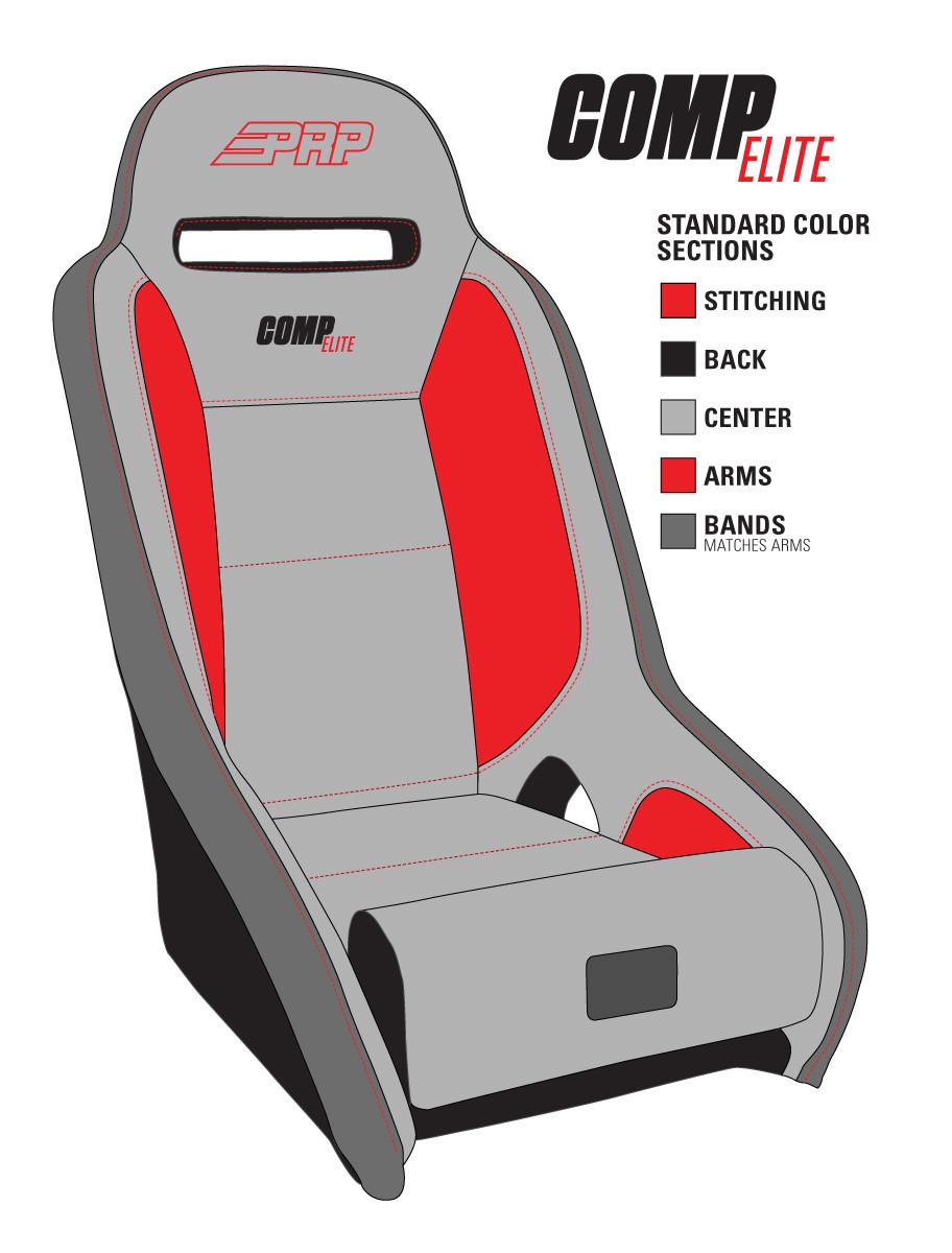 Details for ordering PRP Comp Elite seats