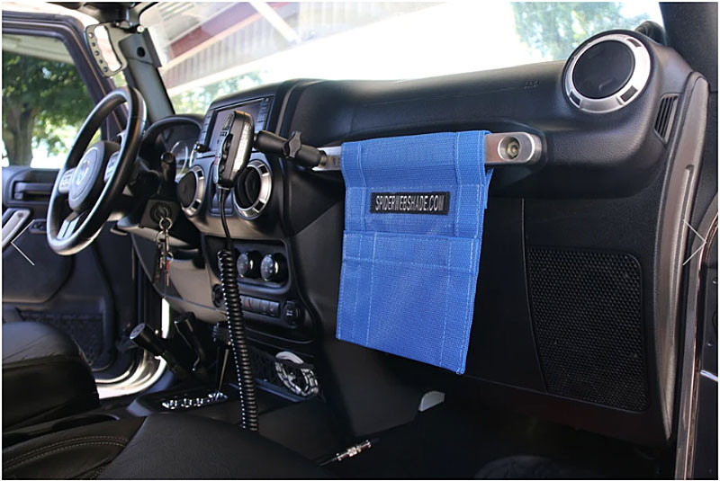 GrabBag shown here in a Jeep