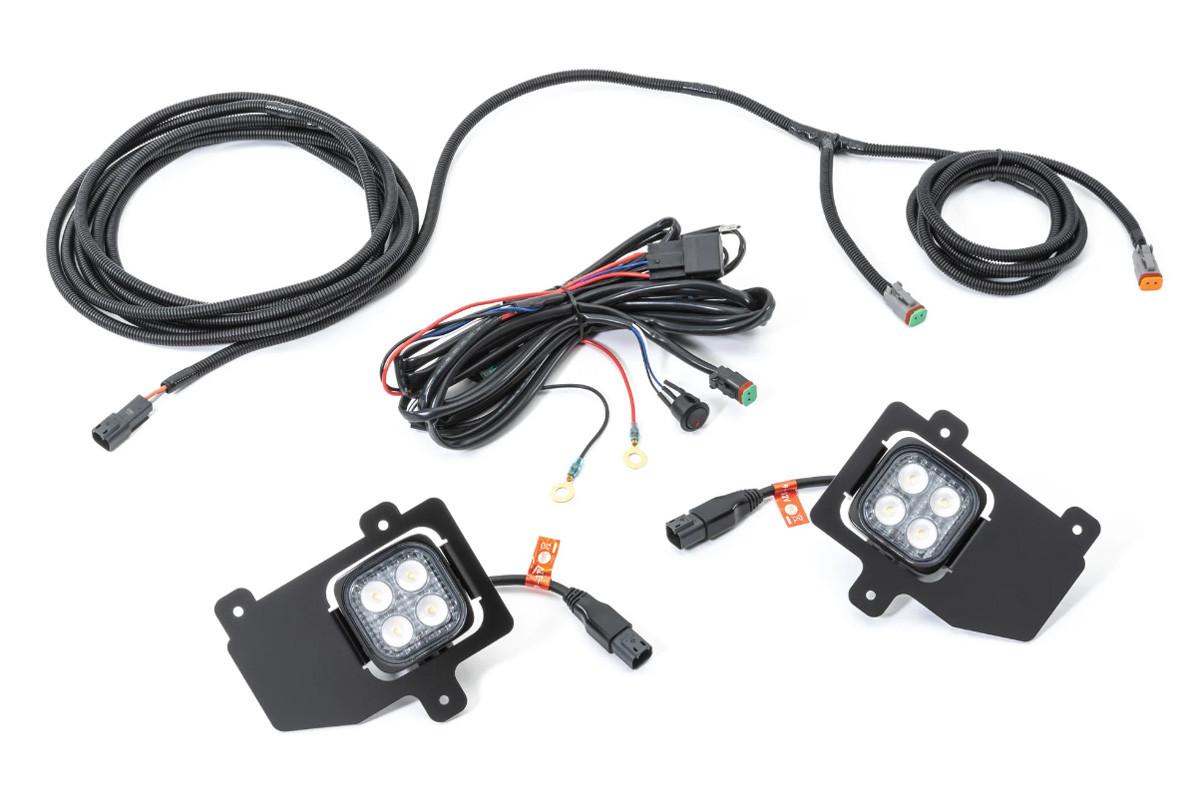VisionX LED back up light kit for the Jeep Gladiator