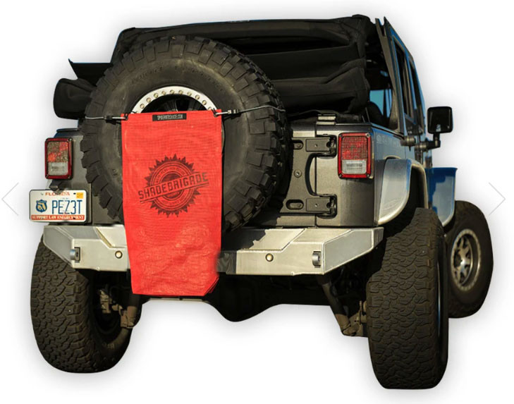 Trail Sac in Red