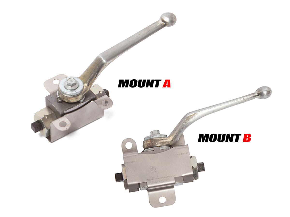 We offer two different mounting styles for your application