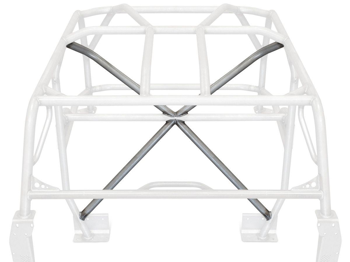 """1-3/4"""" tube X-Bar for the GenRight TJ, LJ, YJ and CJ cages."""