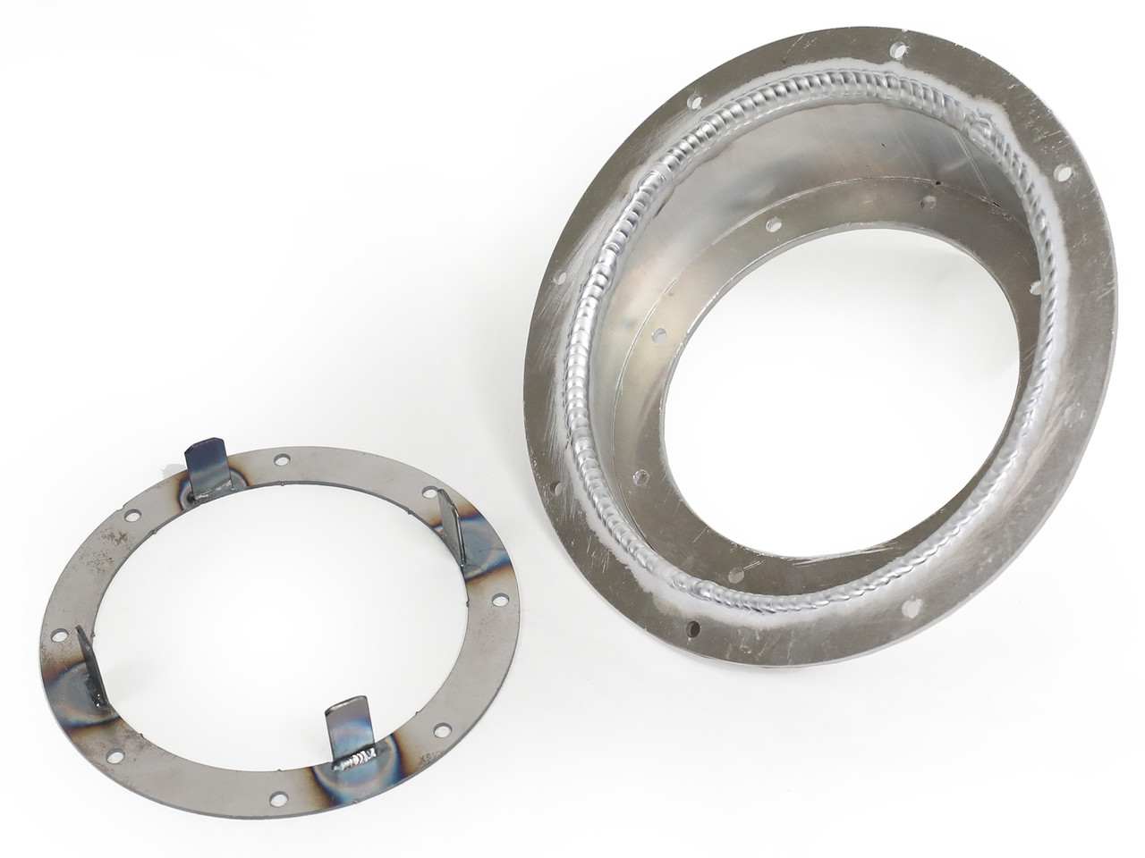 GenRight's aluminum fuel filler bezel