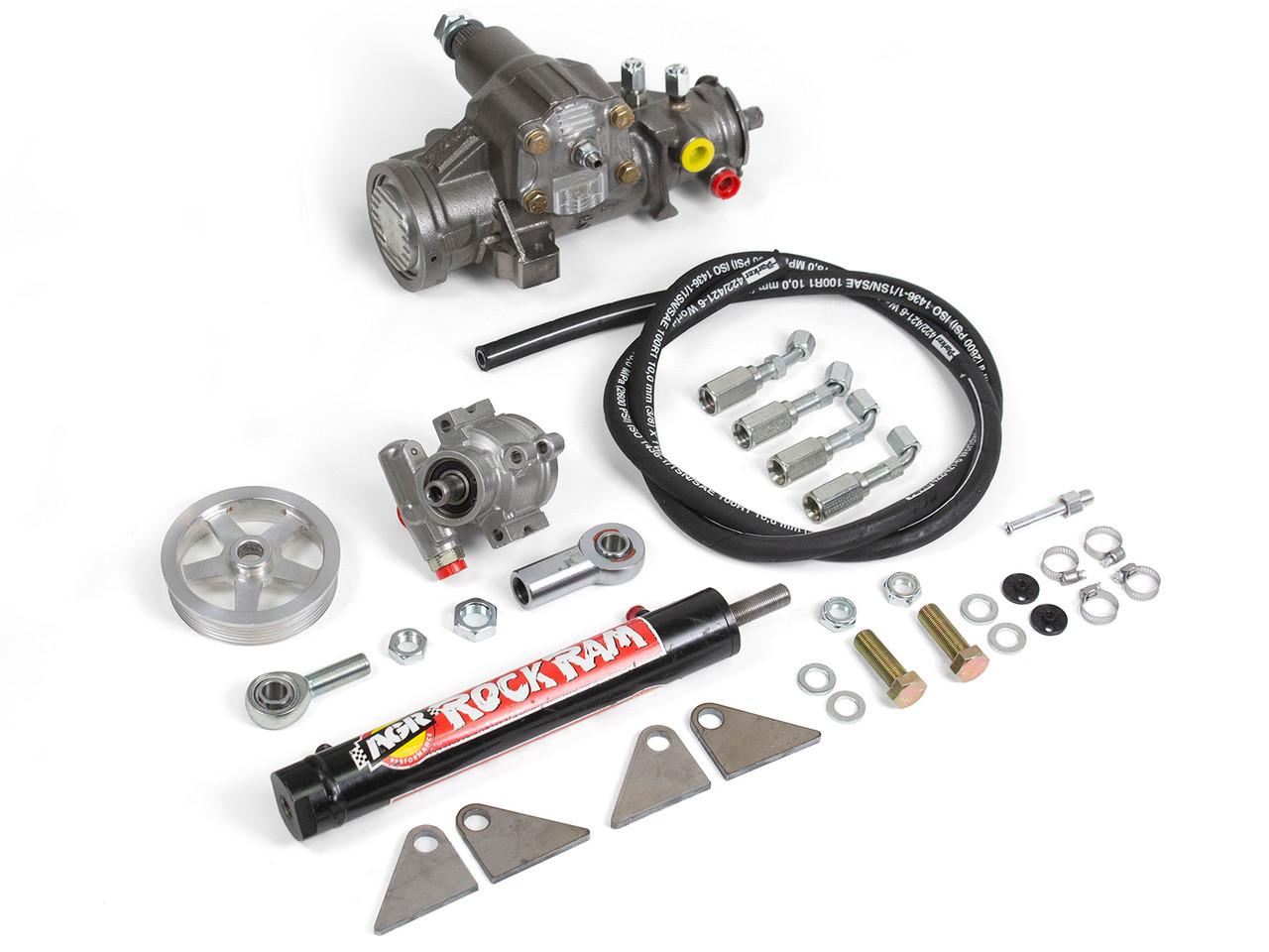 AGR Jeep Rock Ram Steering System 97-02 Jeep TJ 4.0L