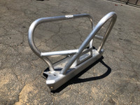 Growler YJ aluminum front bumper
