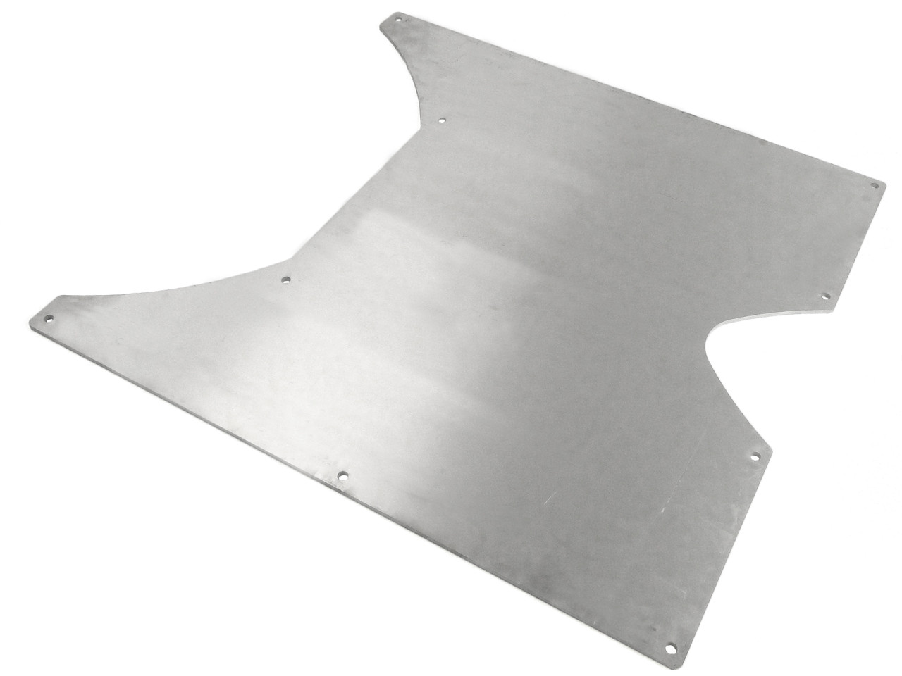 GenRight's completely flat 6061 Aluminum belly skid plate for the Jeep JKU