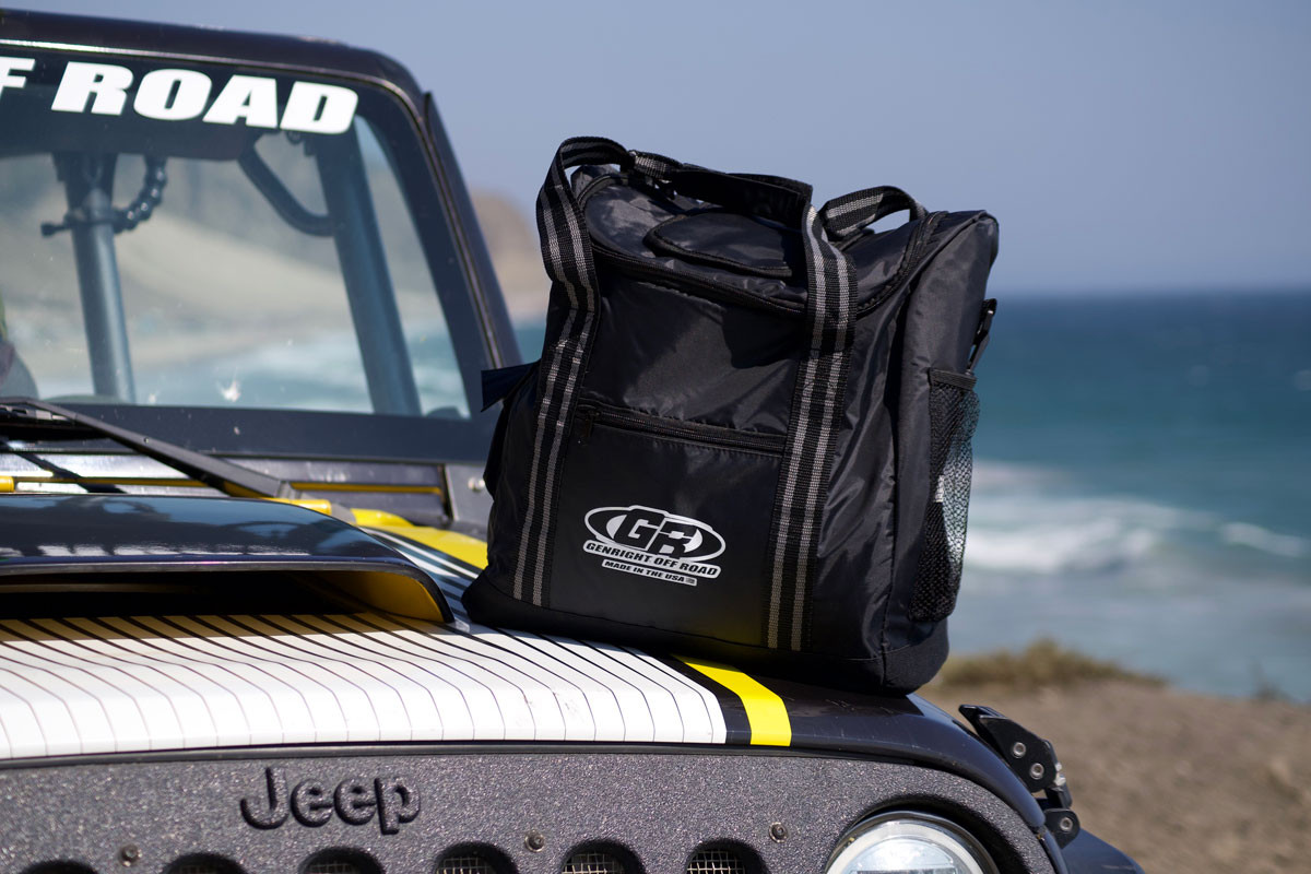 GenRight Insulated Soft Cooler at the beach