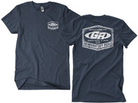 GenRIght Classic Heather Navy Tee