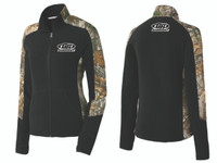 GenRight Camo/Black Womens Zip Up Jacket