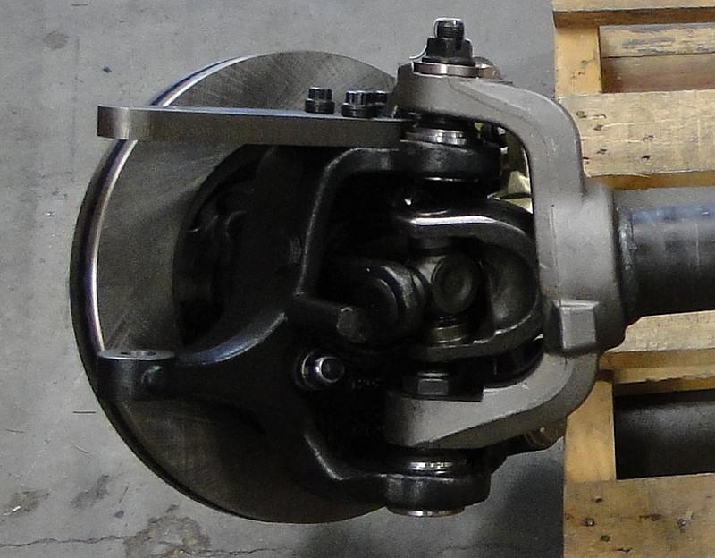 1480 U-joints & Hi-Steer Knuckles are standard on GenRight spec Currie 60's