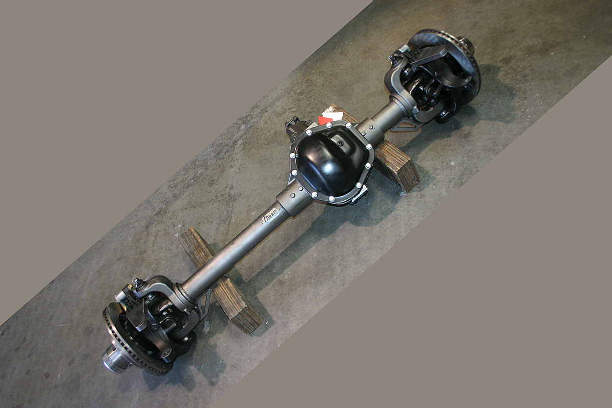 Currie High Pinion 60 Front Axle, complete