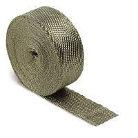 "DEI 2"" wide x 50' long Titanium exhaust wrap roll"