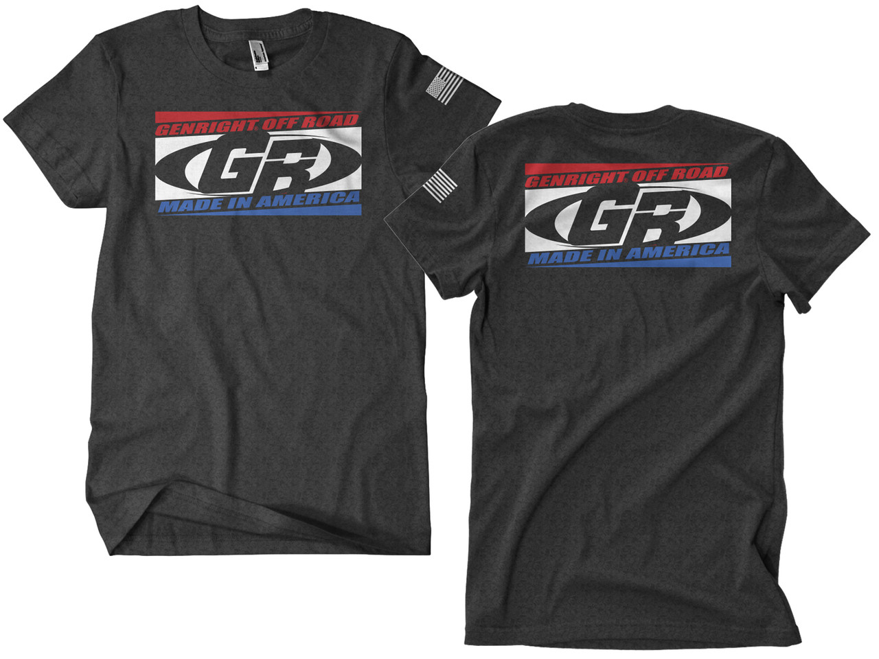 GenRight RWB Block Shirt (Choose Size)