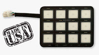 Switch Pros 12 button panel, blank