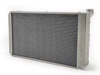 Custom Ron Davis radiator for LS V8 with GenRight Tracer Suspension
