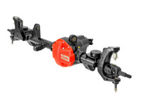 Complete Currie Hi-pinion Dana 44 Front Axle with brackets and tabs for the JL