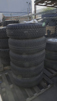Set of 5 Used Jeep Tires & Wheels