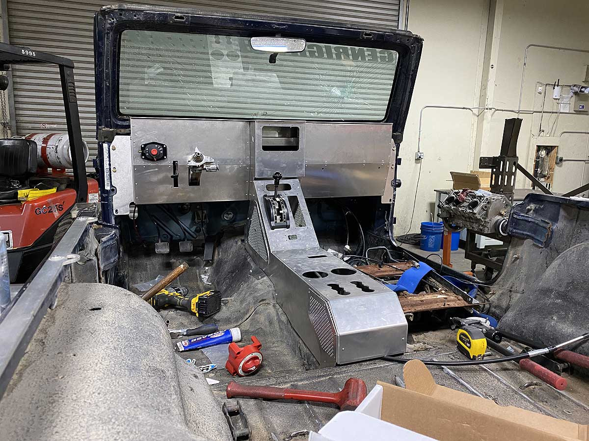 Shown here being installed in our own Jeff Perkins Jeep TJ
