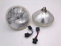 "7"" round Halogen head lights"