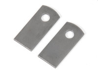 Brake line mounting tabs (Pair)