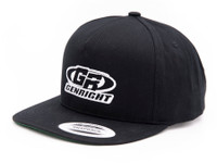 GenRight Logo Premium 5-Panel Snapback Cap (Black)