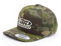 GenRight Logo Premium 5-Panel Snapback Cap (Camo)